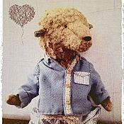 Куклы и игрушки ручной работы. Ярмарка Мастеров - ручная работа Мишка Тедди Митрич. Handmade.