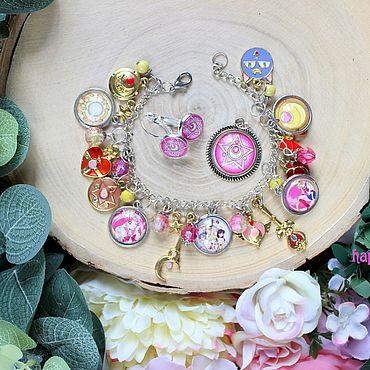 Decorations handmade. Livemaster - original item Sailor moon jewelry set. Handmade.