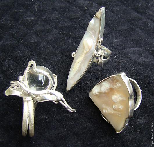 Кольца ручной работы. Ярмарка Мастеров - ручная работа. Купить Кольцо кварц, шар. Handmade. Кольцо с камнем, кольцо серебро