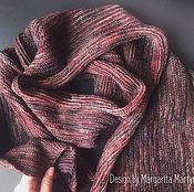 Огромный шерстяной шарф
