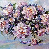 Картины и панно handmade. Livemaster - original item Oil painting on canvas flowers
