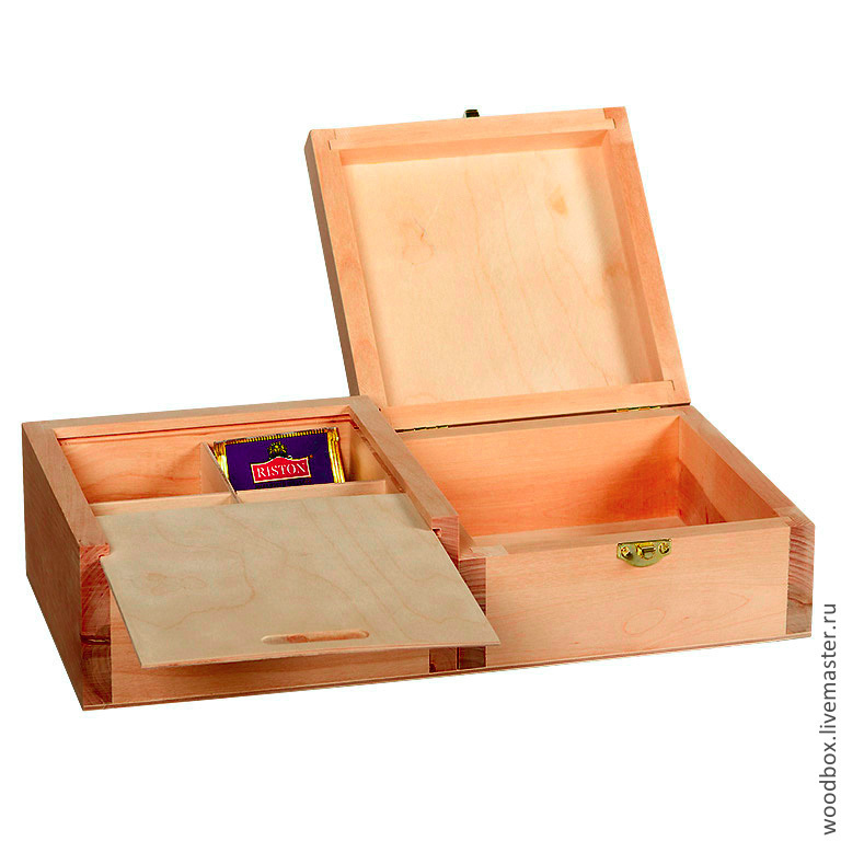 36188.5 CCP a couple of Tea boxes, the lid-container 36 18 8.5 cm, Blanks for decoupage and painting, Moscow,  Фото №1