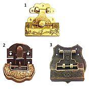 Навесной замок с ключом фурнитура выбор формы металл стариный декор