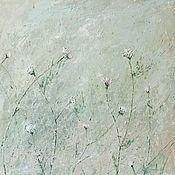 Картины и панно ручной работы. Ярмарка Мастеров - ручная работа Очарование летних трав. Handmade.