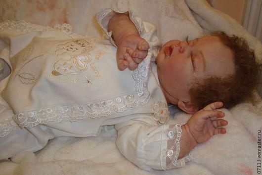 Куклы-младенцы и reborn ручной работы. Ярмарка Мастеров - ручная работа. Купить кукла реборн Ариелька. Handmade. Бежевый