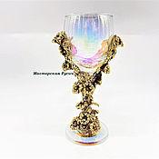 Посуда handmade. Livemaster - original item Glass of Flowers. Handmade.