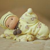 Вальдорфские куклы и звери ручной работы. Ярмарка Мастеров - ручная работа Игрушка по вальдорфским мотивам кукла-бабочка, 30 см. Handmade.
