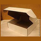 Материалы для творчества ручной работы. Ярмарка Мастеров - ручная работа Большие коробки из гофрокартона. Handmade.