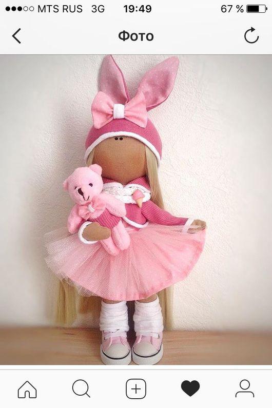 Куклы Тильды ручной работы. Ярмарка Мастеров - ручная работа. Купить Текстильная интерьерная кукла. Handmade. Текстильная кукла