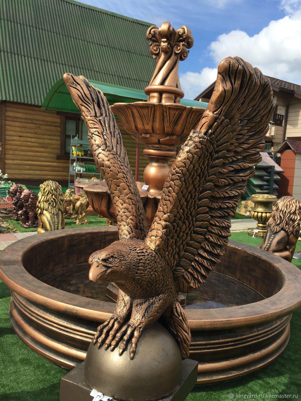 купить скульптуру орла из бетона