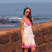 Одежда handmade. Livemaster - original item Knitted dress ORCHID. Handmade.