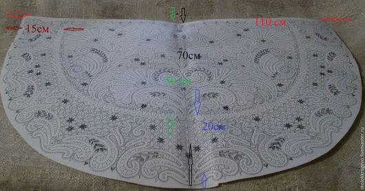 Другие виды рукоделия ручной работы. Ярмарка Мастеров - ручная работа. Купить платок для храма(сколок). Handmade. Платок, коклюшечное кружево