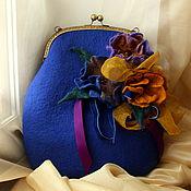 Сумки и аксессуары handmade. Livemaster - original item Bag felted Jacqueline. Handmade.