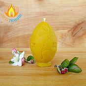 """Сувениры и подарки ручной работы. Ярмарка Мастеров - ручная работа свеча """"Яйцо 1"""". Handmade."""