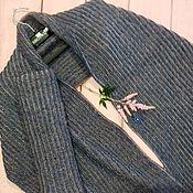 """Одежда ручной работы. Ярмарка Мастеров - ручная работа Жилет - шарф """"Диним и пудра"""". Handmade."""