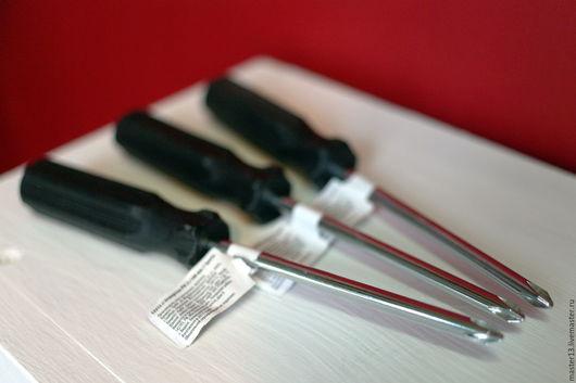 Другие виды рукоделия ручной работы. Ярмарка Мастеров - ручная работа. Купить Отвёртка крестовая РН2. Handmade. Черный, отвертка