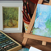 """Открытки ручной работы. Ярмарка Мастеров - ручная работа """"Улитковилль - набор коллекционных открыток. Handmade."""