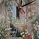"""Часы для дома ручной работы. Заказать Часы  """"Цветущий сад"""". Некрасова Екатерина (katxarina). Ярмарка Мастеров. Часы интерьерные"""