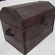 Для дома и интерьера handmade. Livemaster - original item Chest, antique solid cedar Attic. Handmade.