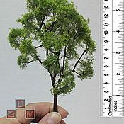 Куклы и игрушки ручной работы. Ярмарка Мастеров - ручная работа Дерево для макета или кукольного сада - без породы, высота 150 мм. Handmade.