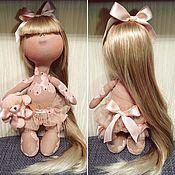 Куклы и игрушки ручной работы. Ярмарка Мастеров - ручная работа Кукла-подружка на рождение девочки. Handmade.