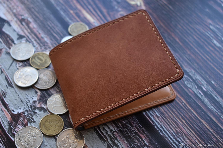 Leather wallet ' Litl2', Wallets, Orenburg,  Фото №1