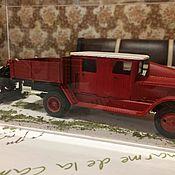 Сувениры и подарки ручной работы. Ярмарка Мастеров - ручная работа Модель пожарного автомобиля в масштабе 1:35. Handmade.