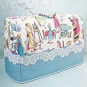 Для дома и интерьера ручной работы. Ярмарка Мастеров - ручная работа Чехол на швейную машинку. Handmade.