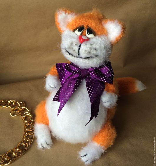 Игрушки животные, ручной работы. Ярмарка Мастеров - ручная работа. Купить Рыжий кот. Handmade. Рыжий, вязание на заказ