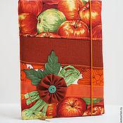 Канцелярские товары ручной работы. Ярмарка Мастеров - ручная работа Блокнот в стиле БОХО (оранжевый).. Handmade.