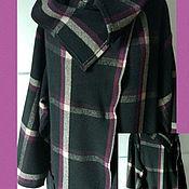 Одежда ручной работы. Ярмарка Мастеров - ручная работа Пальто в клетку Стильная осень. Handmade.