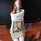 Кукла Тильда` Арина`,  ручная работа ,интерьерная кукла.