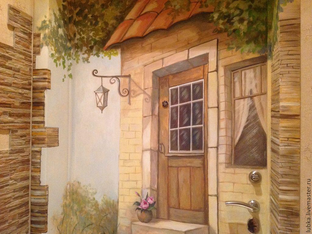 ручной декор входной двери