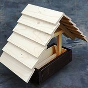 Дача и сад handmade. Livemaster - original item A bird feeder from a tree
