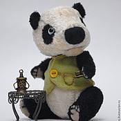 Куклы и игрушки ручной работы. Ярмарка Мастеров - ручная работа Панда Первый Снежок. Handmade.