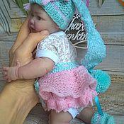 """Куклы и игрушки ручной работы. Ярмарка Мастеров - ручная работа """"Мамина Зая"""" комплект для куклы. Handmade."""