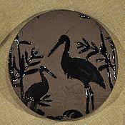 Для дома и интерьера ручной работы. Ярмарка Мастеров - ручная работа Зеркальце в японском стиле.(цена снижена). Handmade.