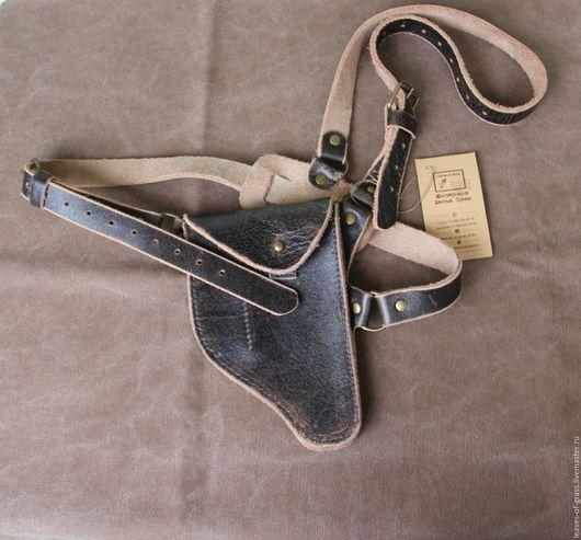 Для телефонов ручной работы. Ярмарка Мастеров - ручная работа. Купить Кожаный чехол для телефона. Handmade. Темно-серый