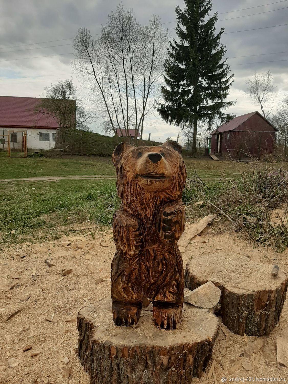 Медвежонок, Скульптуры, Москва,  Фото №1