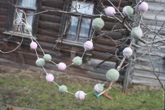 Колье, бусы ручной работы. Ярмарка Мастеров - ручная работа. Купить Бусы Грезы. Handmade. Розовый кварц, натуральный камень