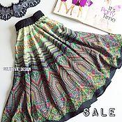 """Одежда ручной работы. Ярмарка Мастеров - ручная работа Шелковая юбка """"Луиза"""". Handmade."""