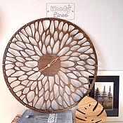 Для дома и интерьера handmade. Livemaster - original item Wood clock Nature. Handmade.