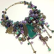Украшения handmade. Livemaster - original item Amethyst Ocean. necklace.. Handmade.