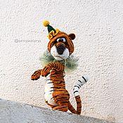 Куклы и игрушки handmade. Livemaster - original item Semyon tiger. Handmade.
