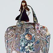 Классическая сумка ручной работы. Ярмарка Мастеров - ручная работа Классическая сумка: Сумочка из платка Тайна сердца. Handmade.