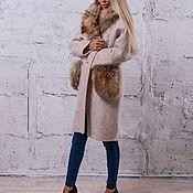 Одежда ручной работы. Ярмарка Мастеров - ручная работа Пальто зимнее с мехом. Handmade.