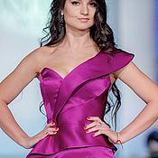 Одежда ручной работы. Ярмарка Мастеров - ручная работа Платье вечернее Lilac. Handmade.