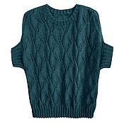 Одежда ручной работы. Ярмарка Мастеров - ручная работа Пуловер-кокон. Handmade.
