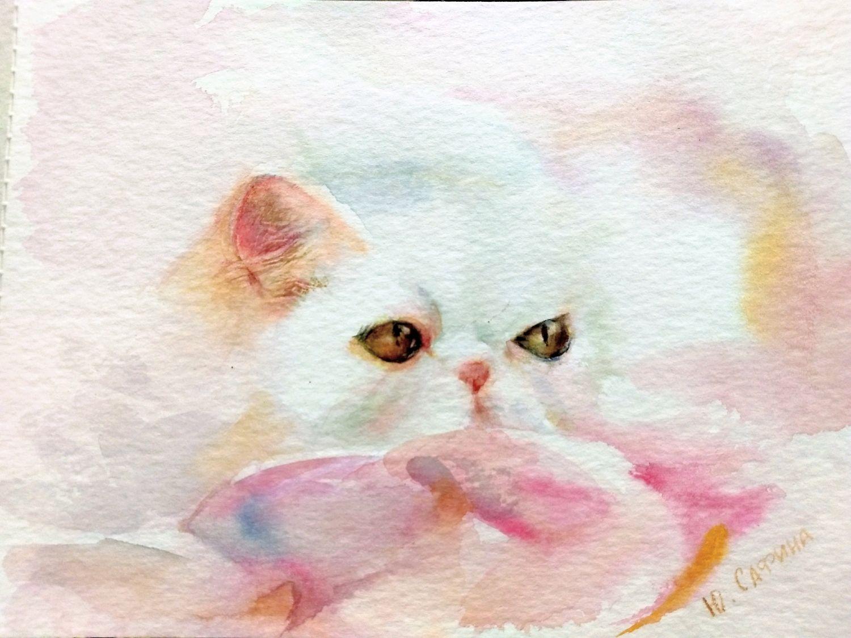 Гламурная кошка, Картины, Челябинск, Фото №1
