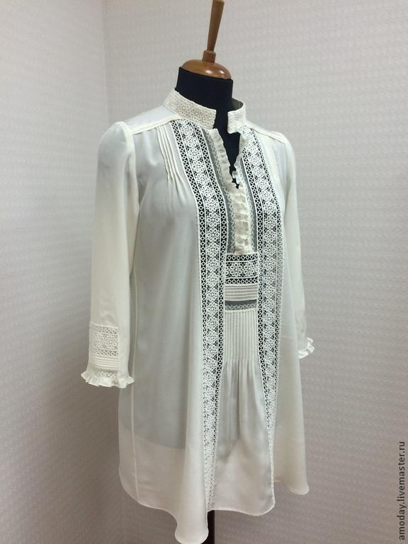 Шелк натуральный блузки купить
